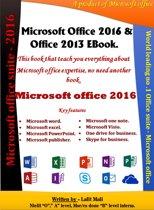 Microsoft office 2016 & 2013 ebook