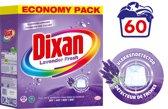 Dixan Powder Lavender - Voordeelverpakking - 60 wasbeurten - Wasmiddel