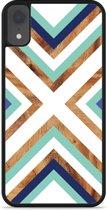iPhone Xr Hardcase hoesje Wood Art