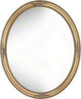 Chique Ovale Spiegel Oliver Buitenmaat 48x58cm Goud