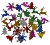 Pailletten afm 15 mm metallic kleuren Kerst 10gr