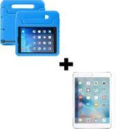BTH iPad 2 Kinderhoes Kidscase Cover Hoesje Met Screenprotector Blauw