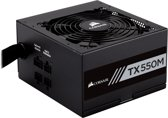 Corsair TX550M power supply unit 550 W ATX Zwart