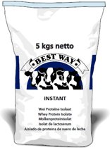 Whey Protein Isolate 5 kg - Wei Proteïne Isolaat (instant) 5 kg - Best Way Ingredients