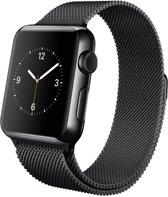 Slobccessories Milanees bandje - Apple Watch Series 1/2/3 (38mm) - Zwart