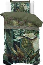Dreamhouse The Botanic Garden - Dekbedovertrek - Eenpersoons - 140x200/220 + 1 kussensloop 60x70 - Groen