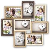 Collage fotolijst Montreaux 8x 13x18 foto