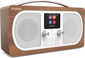 Pure Evoke H6 DAB+ en FM radio met Bluetooth, walnoot