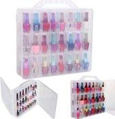 Nagellak Houder Display Container Tas Organizer Opbergdoos 48 Lattice Salon Nieuw