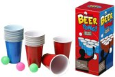 Beer Pong 24 Cups 3 Balls