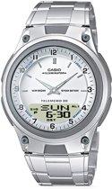 Casio AW-80D-7AVES horloge heren - zilver - kunststof