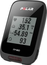 Polar M460 HR - Fietscomputer - GPS/Bluetooth Smart - Incl. borstband - Zwart