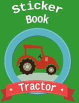 Sticker Book Tractor