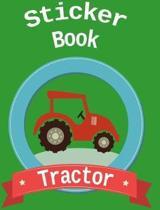 Sticker Book Tractor