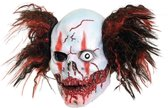 Killer clown luxe masker - Halloween