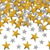 Tafelconfetti ster goud/zilver