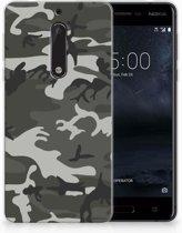 Nokia 5 Uniek TPU Hoesje Army Light
