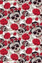 Sugar Skulls and Roses: ToDo List Notebook Daily Tasks Journal, 6x9 Inch, 120 Pages