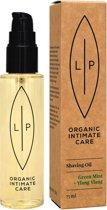 LIP ORGANIC INTIMATE CARE - Shaving + Moisturising Oil Green mint & Ylang Ylang