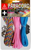 Paracord Set - Special Collection (Rainbow / Roze / Blauw)
