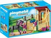 PLAYMOBIL Arabier met paardenbox  - 6934
