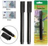 Valsgeld Detectorpen - 2 stuks - nep geld detecteren