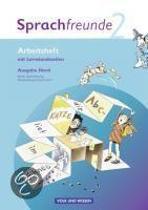 Sprachfreunde 2. Schuljahr. Arbeitsheft. Ausgabe Nord (Berlin, Brandenburg, Mecklenburg-Vorpommern)