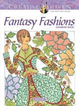 Creative Haven Fantasy Fashions Coloring Book