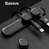 Baseus - kabel clip organizer magnetisch - strak design