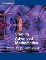 Starting Advanced Mathematics