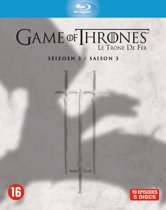 DVD cover van Game Of Thrones - Seizoen 3 (Blu-ray)