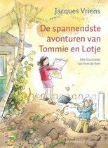 Omslag van 'Tommie en Lotje - De spannendste avonturen van Tommie en Lotje'