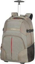 Samsonite Rugzaktrolley Met Laptopvak - Rewind Laptop Backpack/Wh 55/20 (Handbagage) Taupe