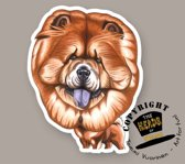 Magneet Hond Chow Chow
