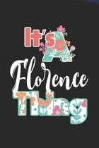 It's Florence Thing