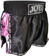 Joya Sportbroek - Maat S  - Unisex - zwart/roze/wit