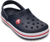 Crocs Crocband Slippers - Maat 25/26 - Unisex - blauw/rood/wit