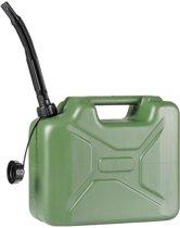 Benzine Jerrycan - Army - 10 Liter - Groen