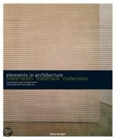 Materialen - Elements in architecture