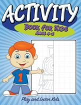 Activity Book for Kids Ages 4 to 8
