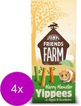 Tiny friends farm harry yippees apple en sweet corn - 4 ST à 120 GR