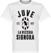 Juventus Established T-Shirt - Wit  - XS