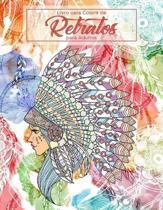 Livro para Colorir de Retratos para Adultos
