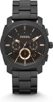 Fossil FS4682 - Horloge - 42 mm - Zwart