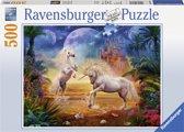 Ravensburger puzzel Magische Eenhoorns - Legpuzzel - 500 stukjes