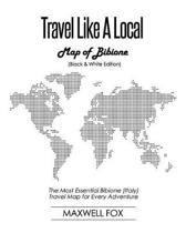 Travel Like a Local - Map of Bibione (Black and White Edition)
