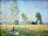 Claude Monet : Summer (1874) Canvas Print