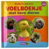 Deltas Baby's Eerste Voelboekje Met Lieve Dieren 15 Cm