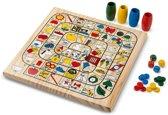 Imaginarium NATURAL LUDO & GOOSE - Houten Ludo en Ganzenbord - Voor Kinderen