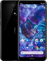 Nokia 5.1 Plus - 32 GB - zwart